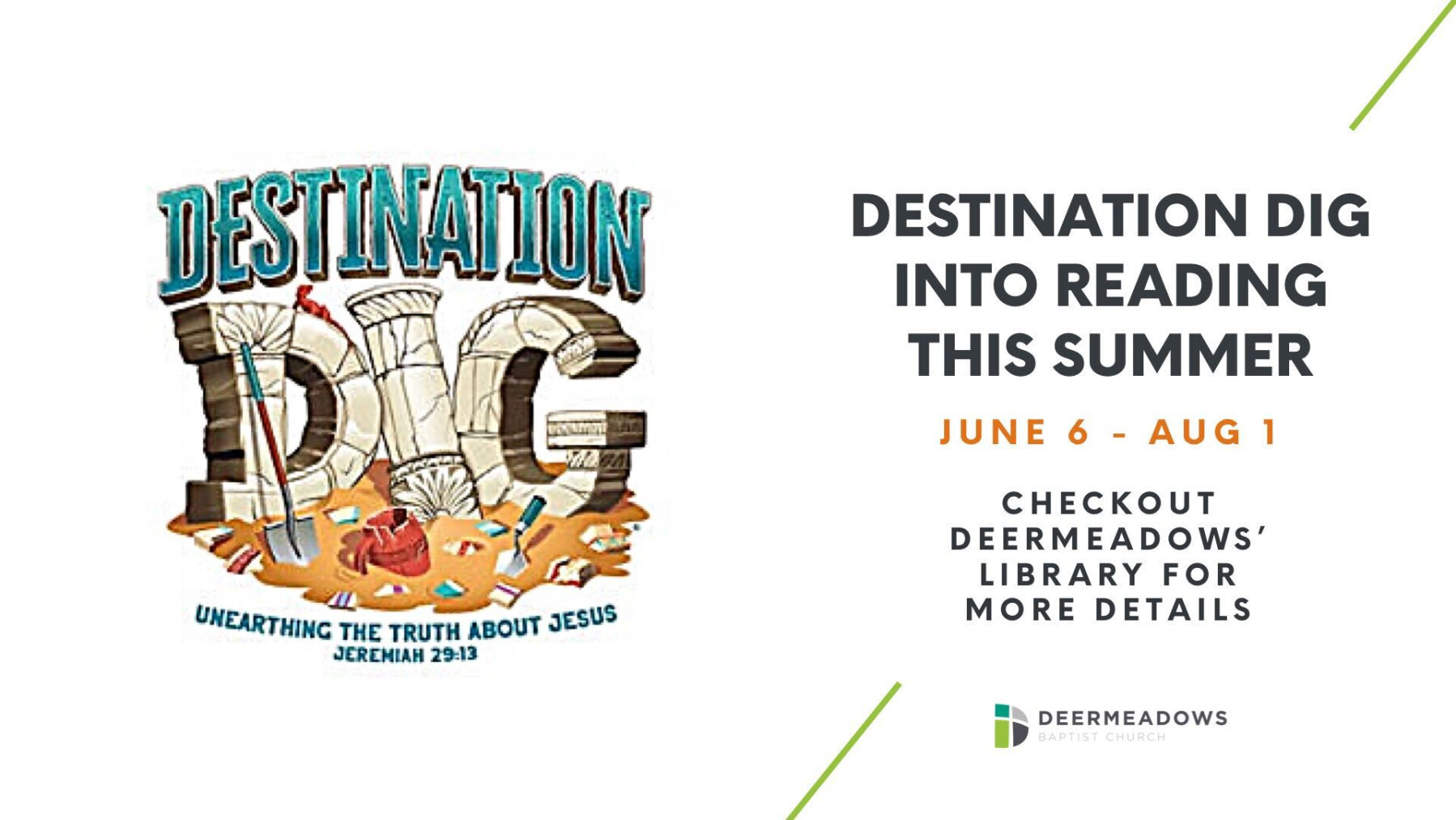 Destination Dig Into Reading